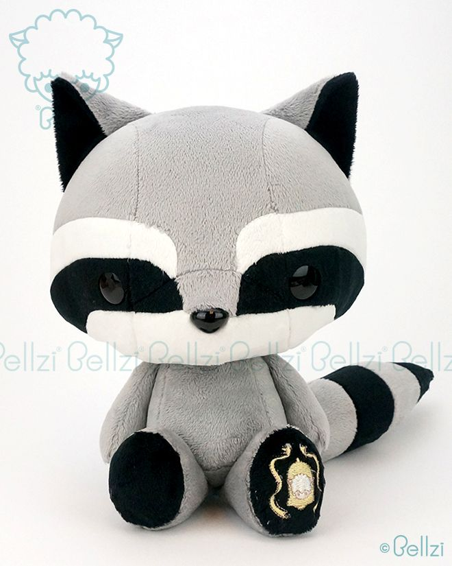 Bellzi.com - Bellzi® Black Raccoon Stuffed Animal Plush Toy - Cooni - Made in USA, $50 (http://www.bellzi.com/bellzi-black-raccoon-stuffed-animal-plush-toy-cooni-made-in-usa/)