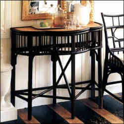 Inspirational Palecek Campaign Console Table available at Surroundings in Mattapoisett Ma