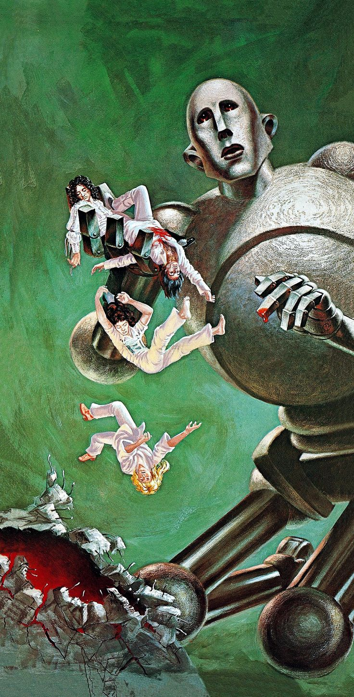 Resultado de imagen para Queen album News of the World Frank Kelly Freas