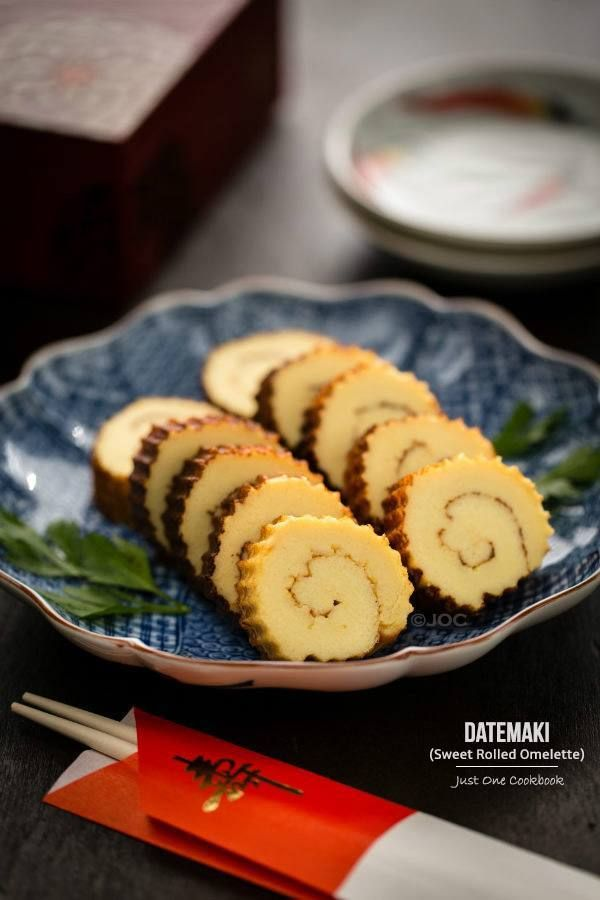 Datemaki (Sweet Rolled Omelette) 伊達巻 | Easy Japanese Recipes at JustOneCookbook.com