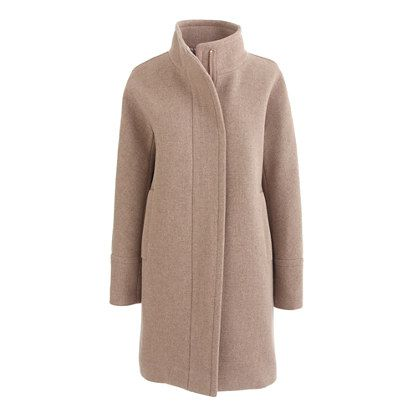 Finally, a use for the camel's hair (copying this J Crew coat with a BBW pattern)