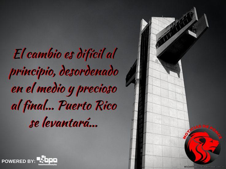 Puerto Rico se levantara, Noticias de Ponce