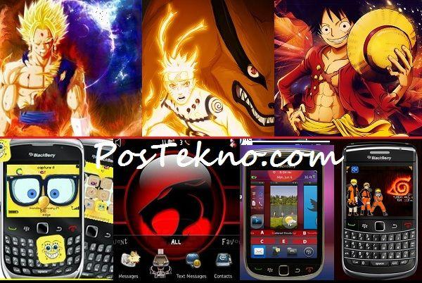 Download Tema Blackberry Kartun Lucu Terbaru