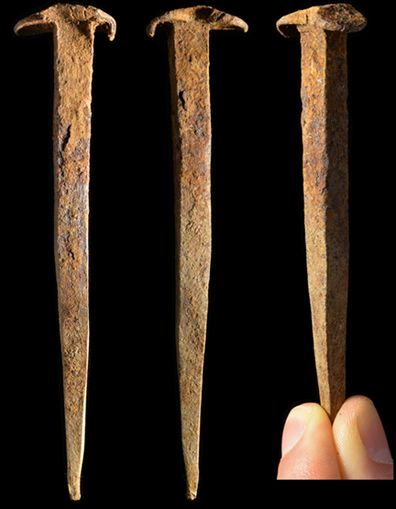 "Ancient Resource: Ancient Roman ""Crucifixion Spikes"" For Sale"