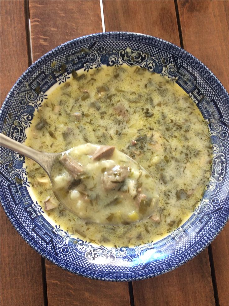 MAGIRITSA - GREEK EASTER SOUP