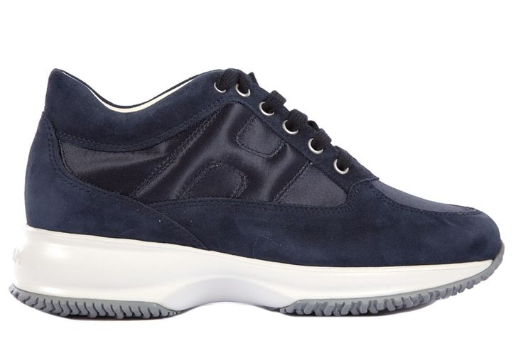 Frmoda.com - Hogan Women's shoes suede trainers sneakers new interactive