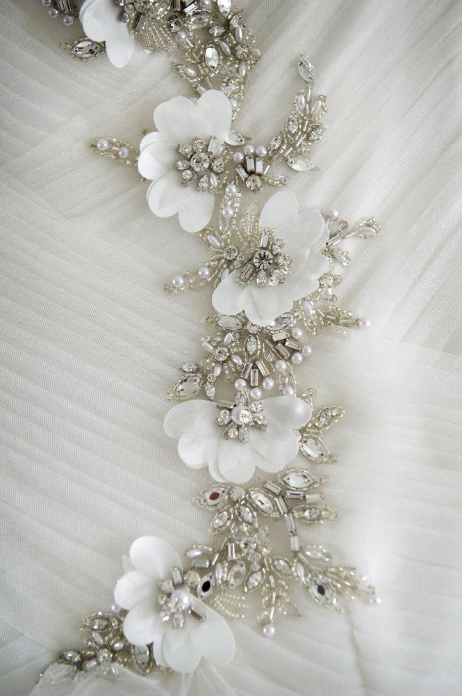 Wedding dress detail. www.brillpix.com – Golnush Gorzin