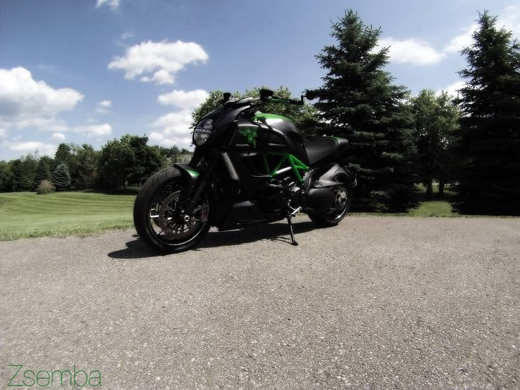 Custom Ducati Diavel, Razer Gaming Decals By Zsolt Zsemba.