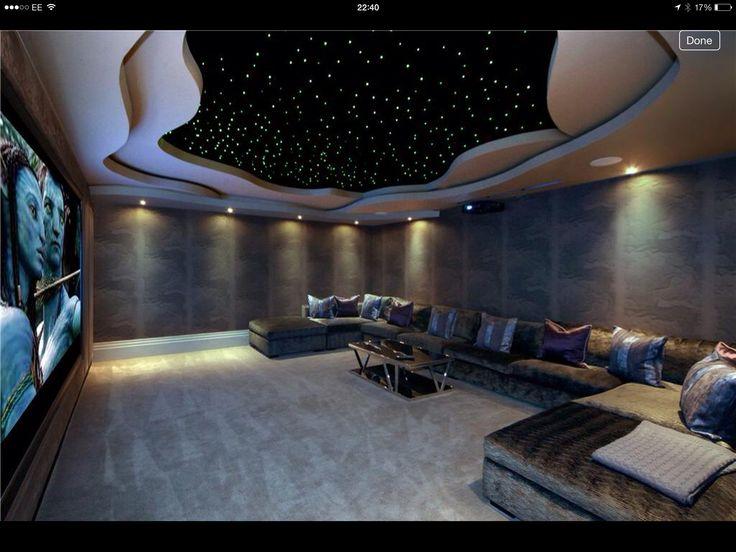Gorgeous cinema rooms