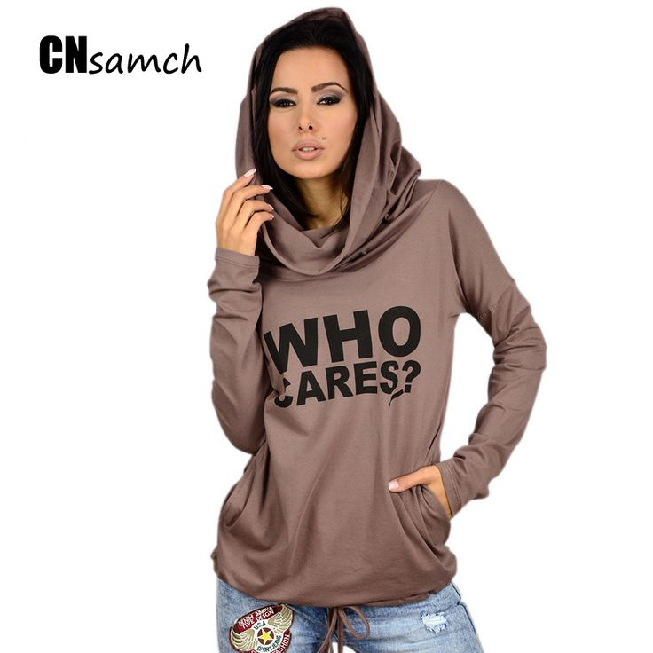 Trade Dress Aliexpress Eaby Hot Stamp Letters Hooded with Double Collar Long Sleeved Loose Casual T-shirt #hats, #watches, #belts, #fashion, #style