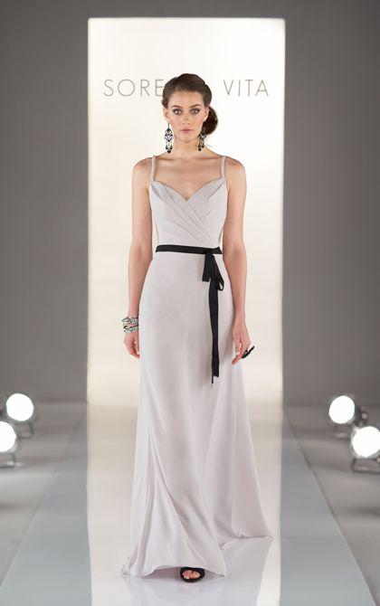 Cute bridesmaid dress by Sorella Vita (Style 8386)