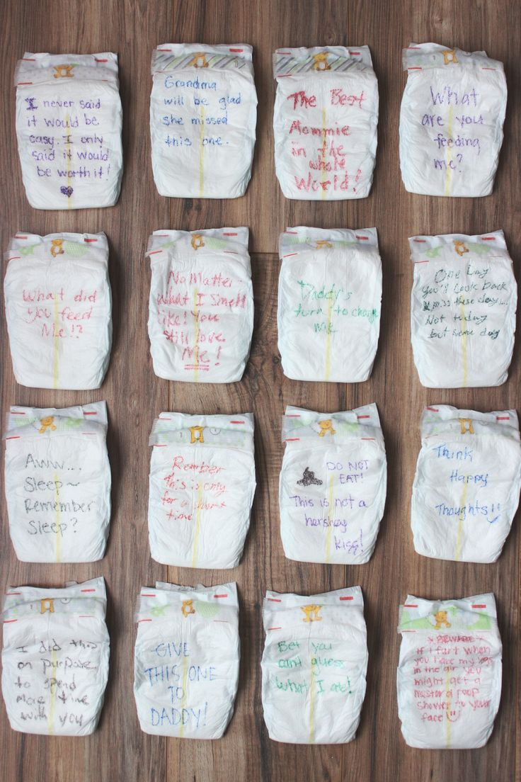 baby shower 'late night diapers' game // via www.darlingbebrave.com