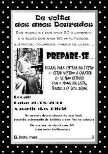 festa anos 60
