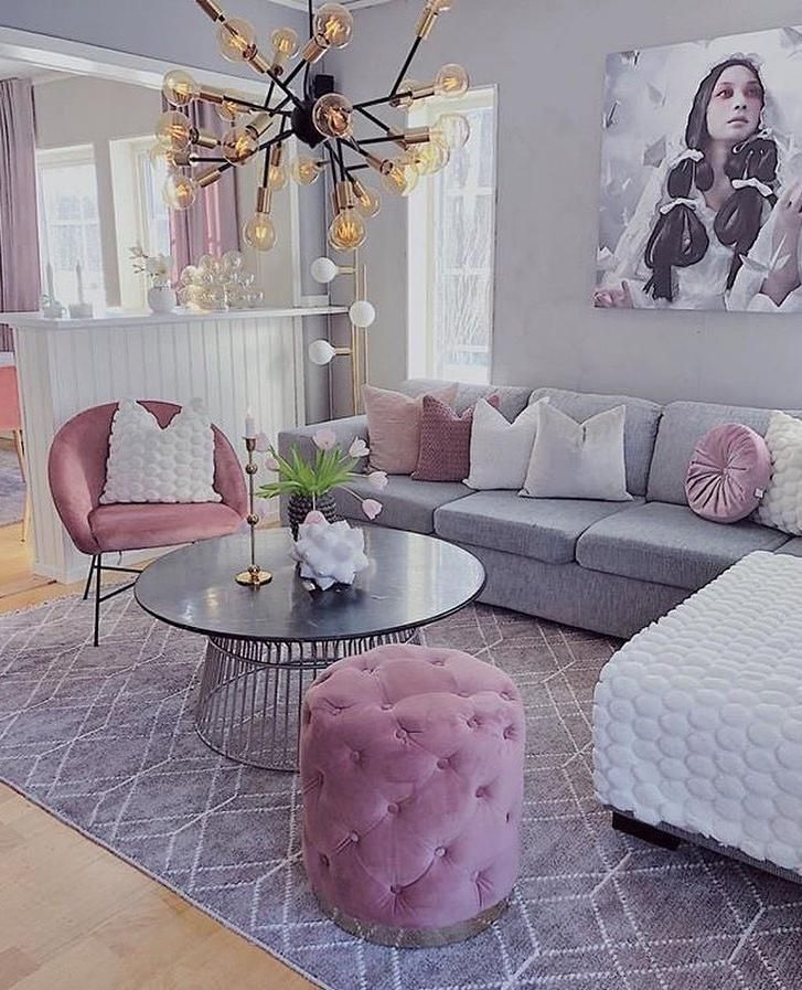 50 Inspiring Living Room Decorating Ideas Pink Living Room Decor Pink Living Room Living Room Decor Apartment