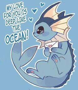 <3 Vaporeon love letter <3 eeveelutions 4 life~ #Pokemon #eeveelutions
