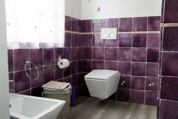 Badezimmer Ideen In Lila : badezimmer fliesen ideen fliesenlack badezimmer beispiele Fliesenfarbe