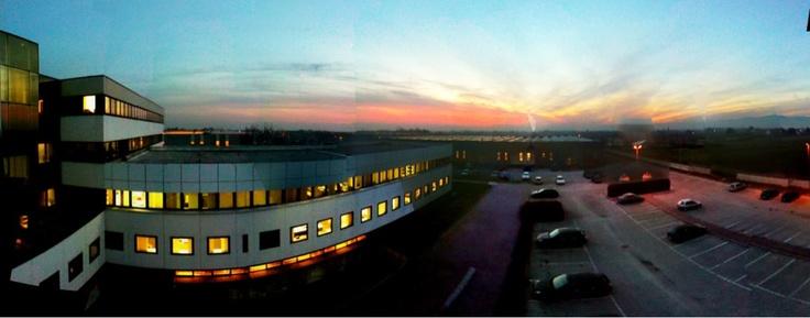 Wonderful Sunset @ Lotto Sport Italia