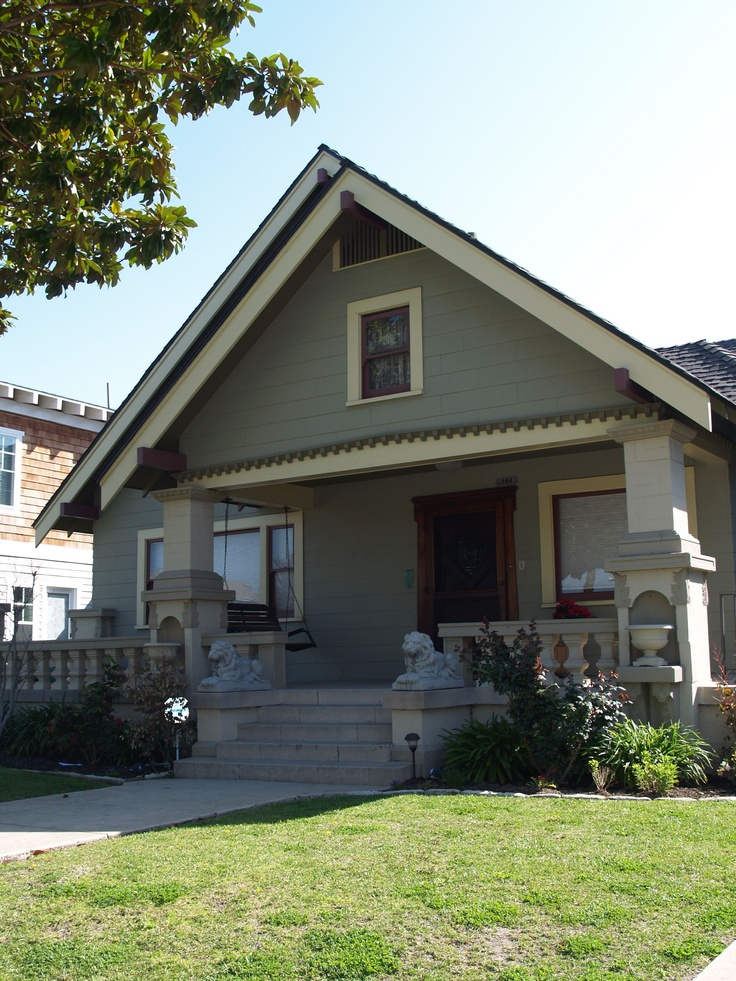 17 best images about curb appeal on pinterest house for Craftsman homes for sale in california