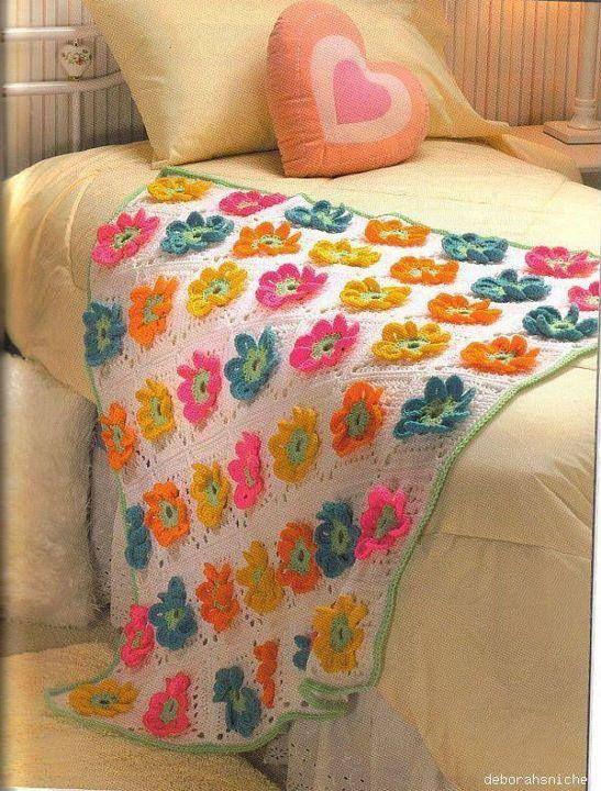 Örgü Bebek Battaniye Modeli