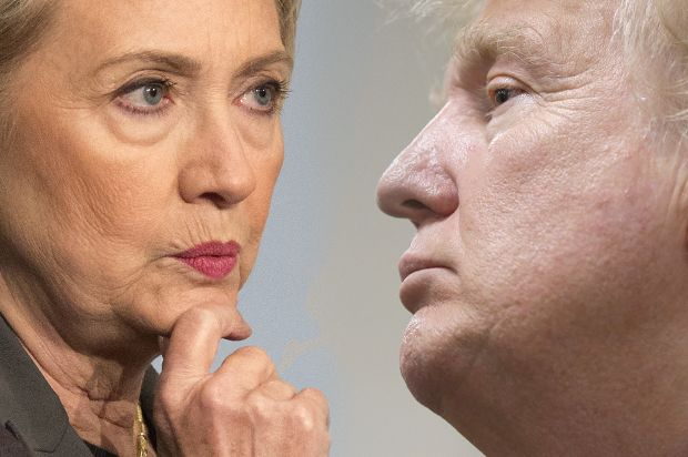 GOP needs to wake up and realize Trump is its fault. But the Trump/Clinton death match is a national nightmare