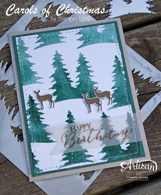 Tinkerin In Ink with Tanya: Carols of Christmas: Stampin' Up! Artisan Blog Hop