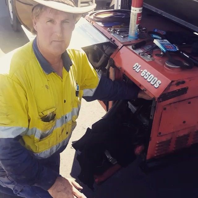 Brian is our mechanic who services Council's fleet on site or on the side of the road. Thanks Brian for keeping our vehicles up and running!