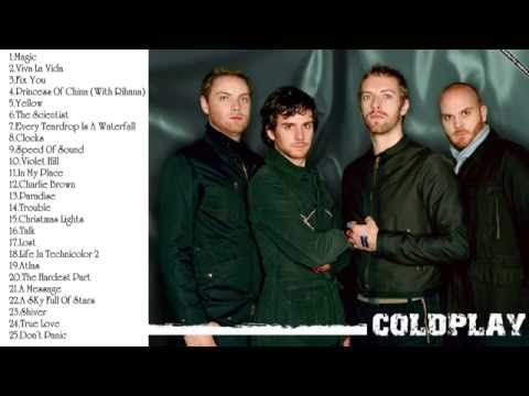 Best Songs Of Coldplay (Update 2014) || Coldplay's Greatest Hits (Update 2014) - YouTube