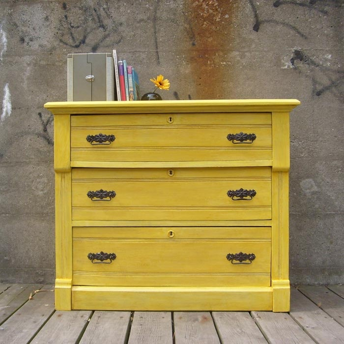 Antique Eastlake Dresser Made To Order Canary