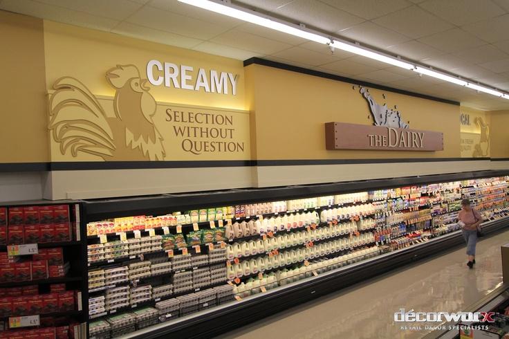 Dairy, Harmons West, #Decorworx #Retail Design