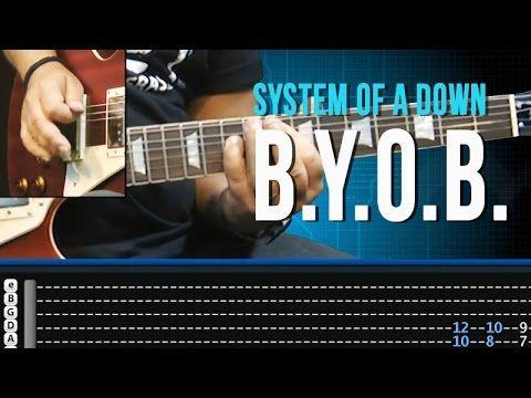 ▶ System of a Down - B.Y.O.B. - Aula de Guitarra - TVCifras - YouTube