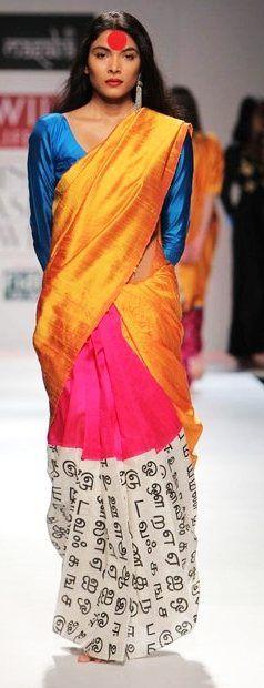 i wish i cud get my hands on a masaba saree !