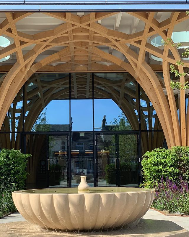 New The 10 Best Garden Ideas Today With Pictures A Beautiful Mosque In Cambridge Cambridge Cambridge Beautiful Mosques Central Mosque Amazing Gardens