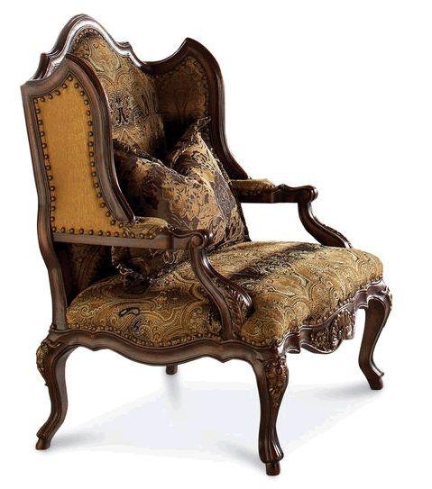 Прекрасное кресло в староанглийском стиле от американской компании Schnadig. Деревянный каркас, резьба, гвоздики и подборка тканей создают впечатление антикварного кресла (у антикварных кресел всегда можно обнаружить обивку из нескольких видов разных ткан...             Метки: Кресла для дома, Кресла с высокой спинкой, Кресла с деревянными подлокотниками, Кресло для отдыха.              Материал: Ткань, Дерево.              Бренд: Schnadig.              Стили: Классика и неоклассика…