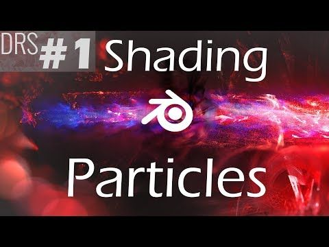 Blender particle simulation tutorial: Particle Trail (advanced) - YouTube