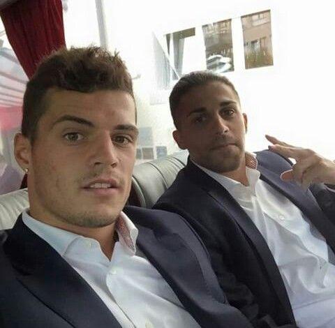 Swiss Football Team ⚽ Granit Xhaka and Ricardo Rodriguez ♡