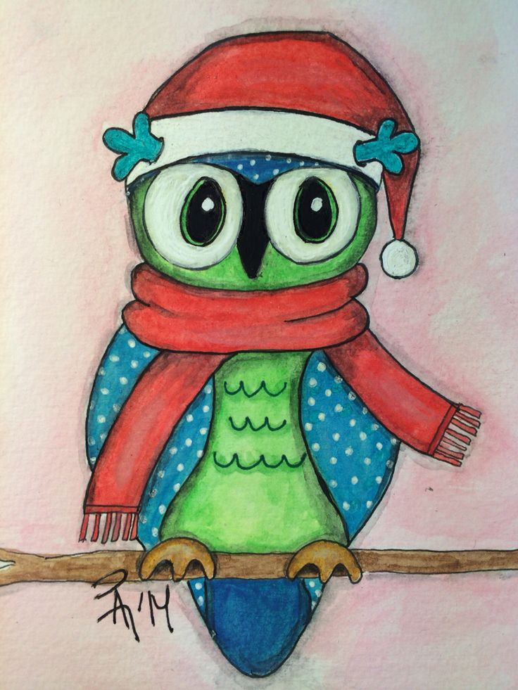 Have a hoot for Xmas by Angelart