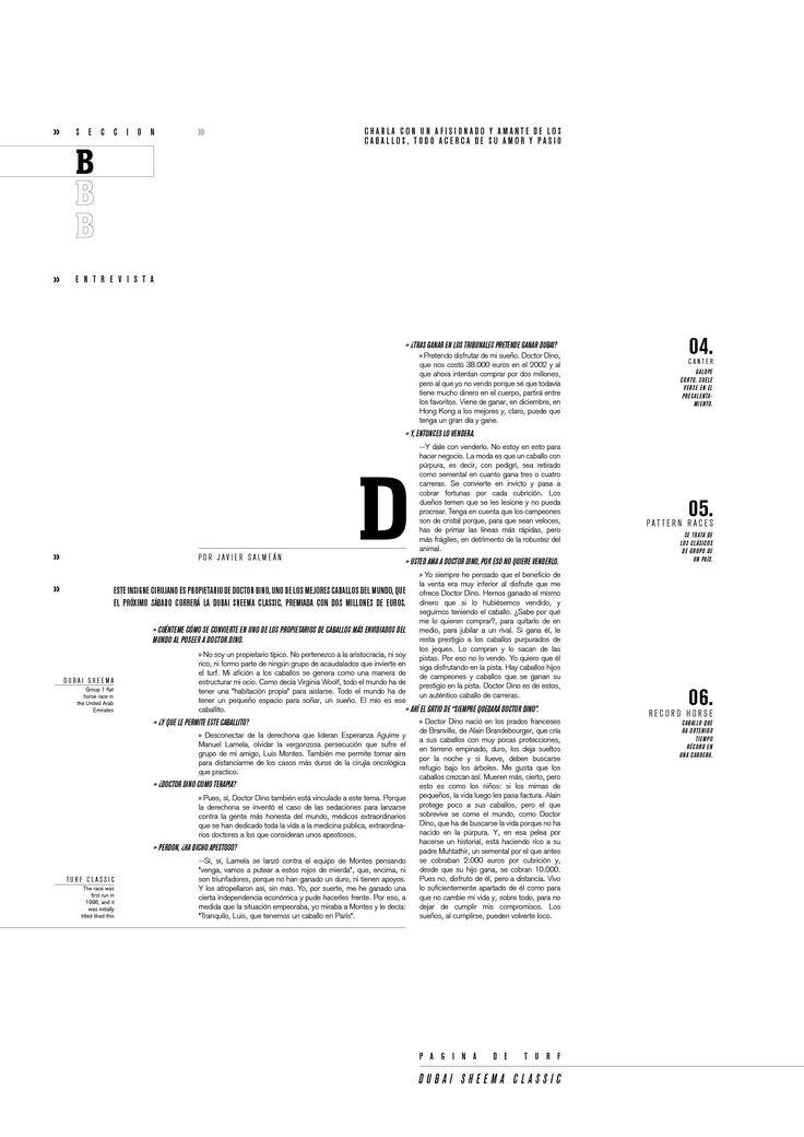 Diseño Editorial / Publicación de deporteTipografia II - Cátedra Longinotti
