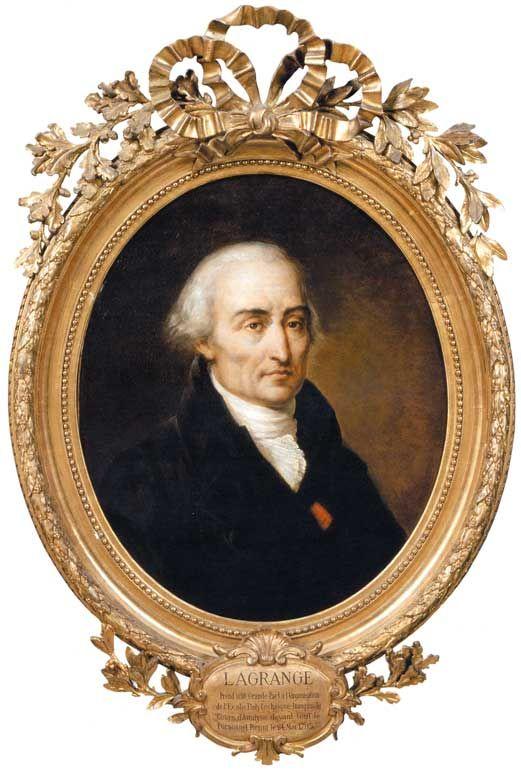 Joseph Louis Lagrange (1736-1813) mathematicien fondateur de polytechnique