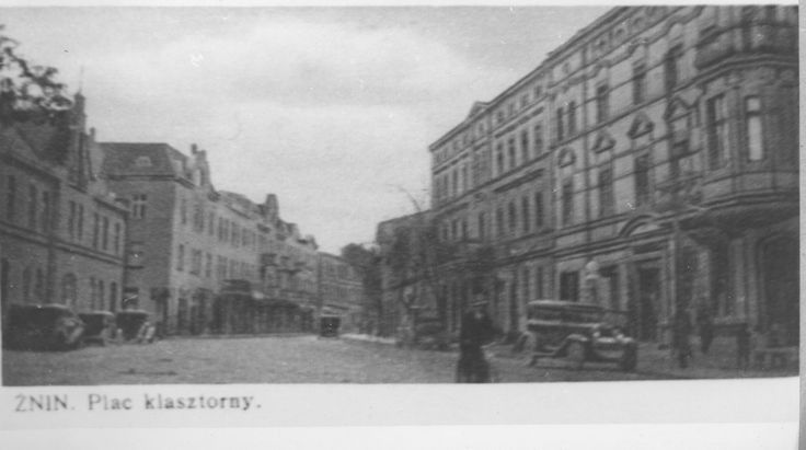 Żnin, ul.Śniadeckich, dawniej Plac Klasztorny