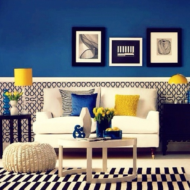 20 Charming Blue And Yellow Living Room Design Ideas: 39 Best Burgundy Decor Images On Pinterest