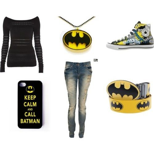 Batman inspired outfit