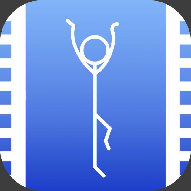#NEW #iOS #APP Stick Man Animation Creator - Black Software LLC