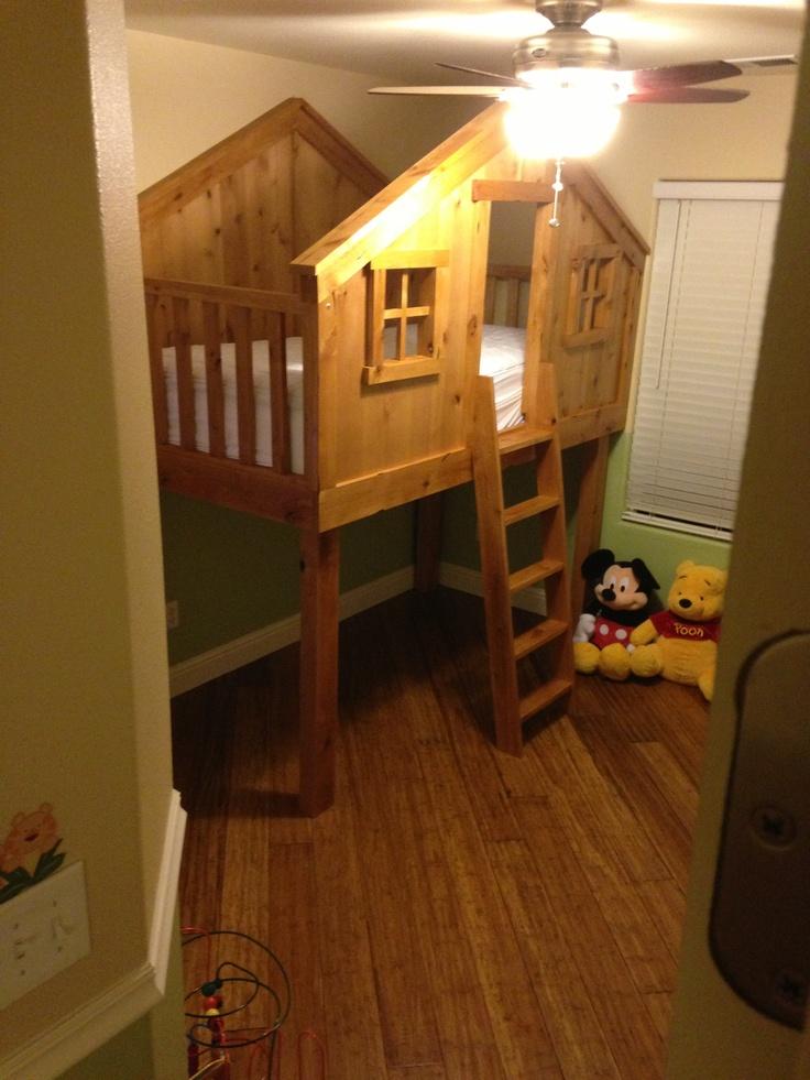 31 best boy toddler room ideas images on pinterest child for Treehouse toddler bed