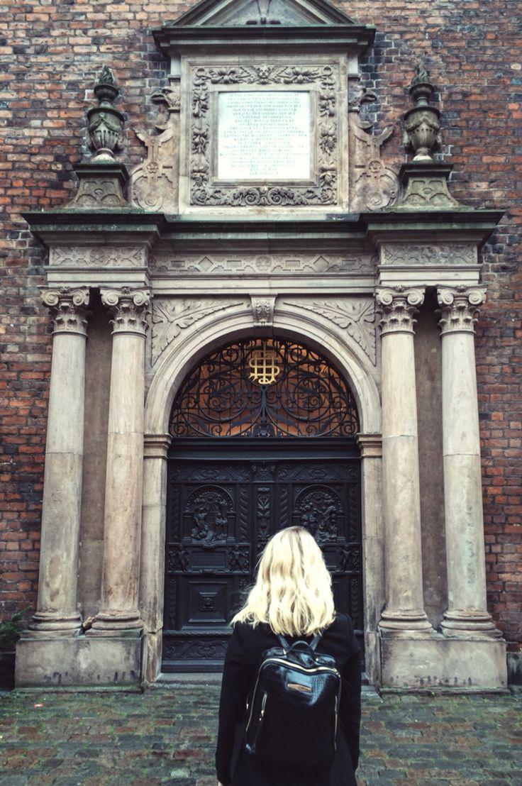 Me + church in Copenhagen