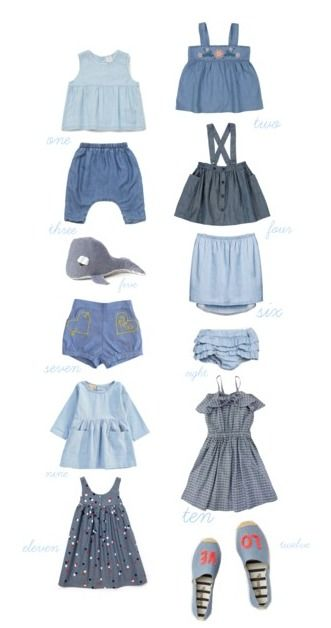 Chambray - a beautiful soft fabric giving you a cool denim like look. Here are our Spring/Summer favourites for the little ones.