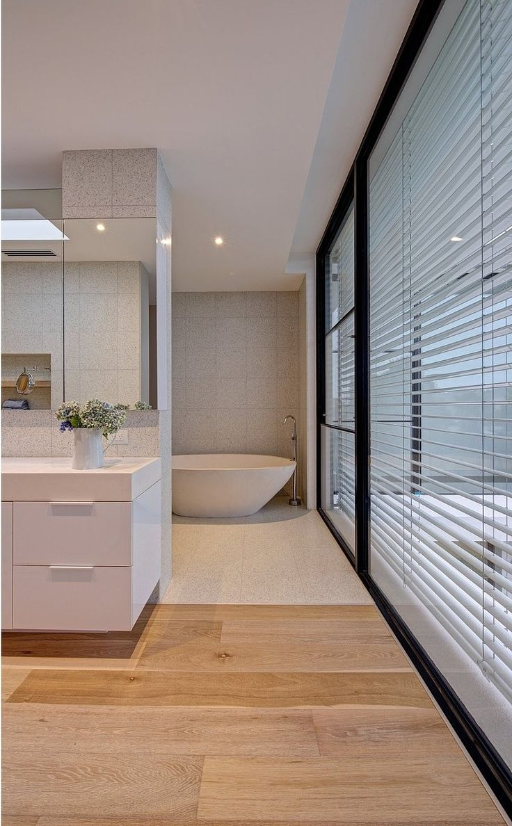 32 best terrazzo images on pinterest architecture modern modern bathroom the brighton escape by georgia ezra
