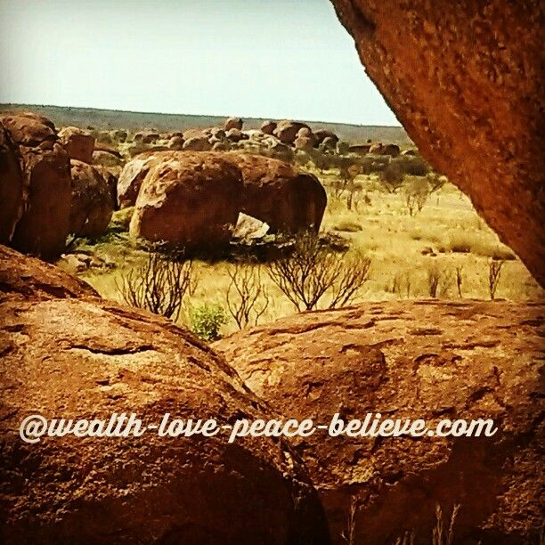 The Devils Marbles: south of Tennant Creek NT.  I'm awestruck every time I see this incredible outcrop of Granite Boulders, precariously perched up on each other! #devilsmarbles #nt #northernterritory #motherdaughtertrip #roadtrip