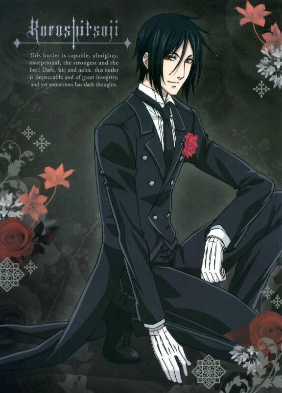 Black Butler Sebastian True Form   Black Butler Sebastian True Form