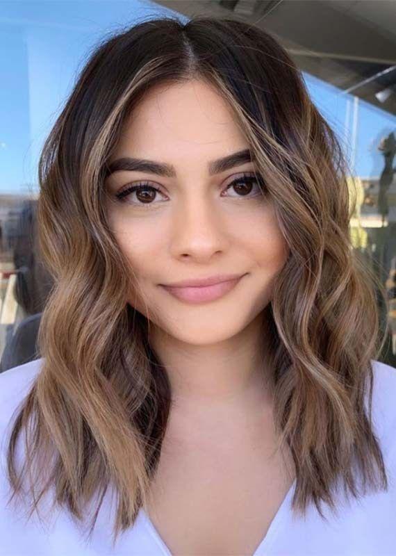Cute Face Framing Balayaged Haircut Styles For Women 2019 Short Hair Balayage Hair Styles Hair Lengths