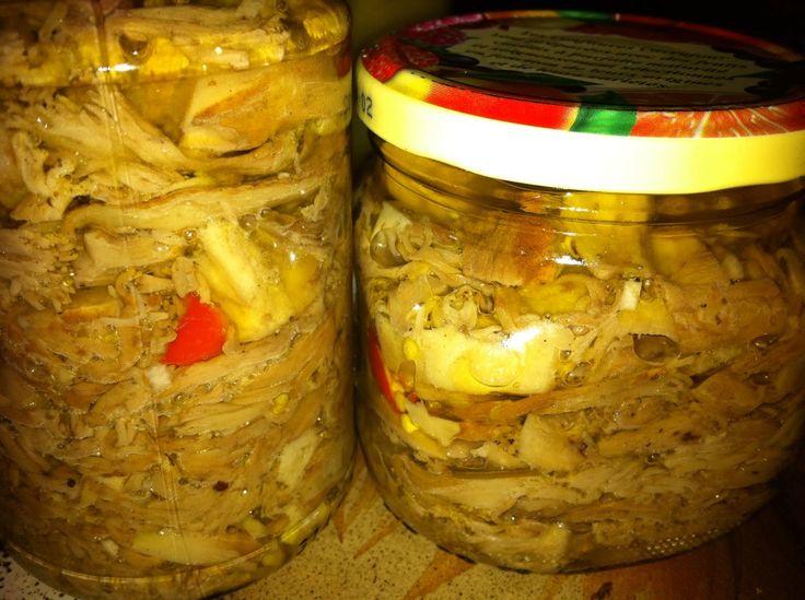 Il Blog di Picetto: Funghi sott'olio